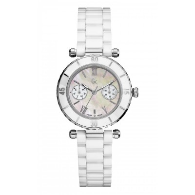 GC GUESS COLLECTION WHITE CERAMIC LADIES